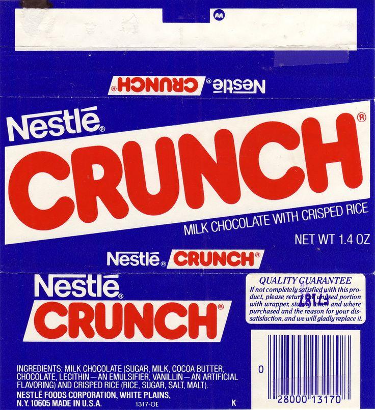 Candy Bar clipart crunch Bar Nestle 139 Candy on