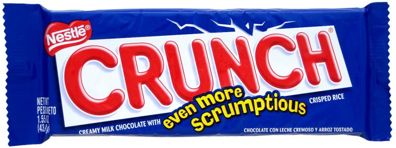 Candy Bar clipart crunch Brands Crunch Nestlé Candy Owned