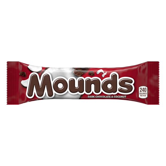 Candy Bar clipart food item Candy  Product MOUNDS &