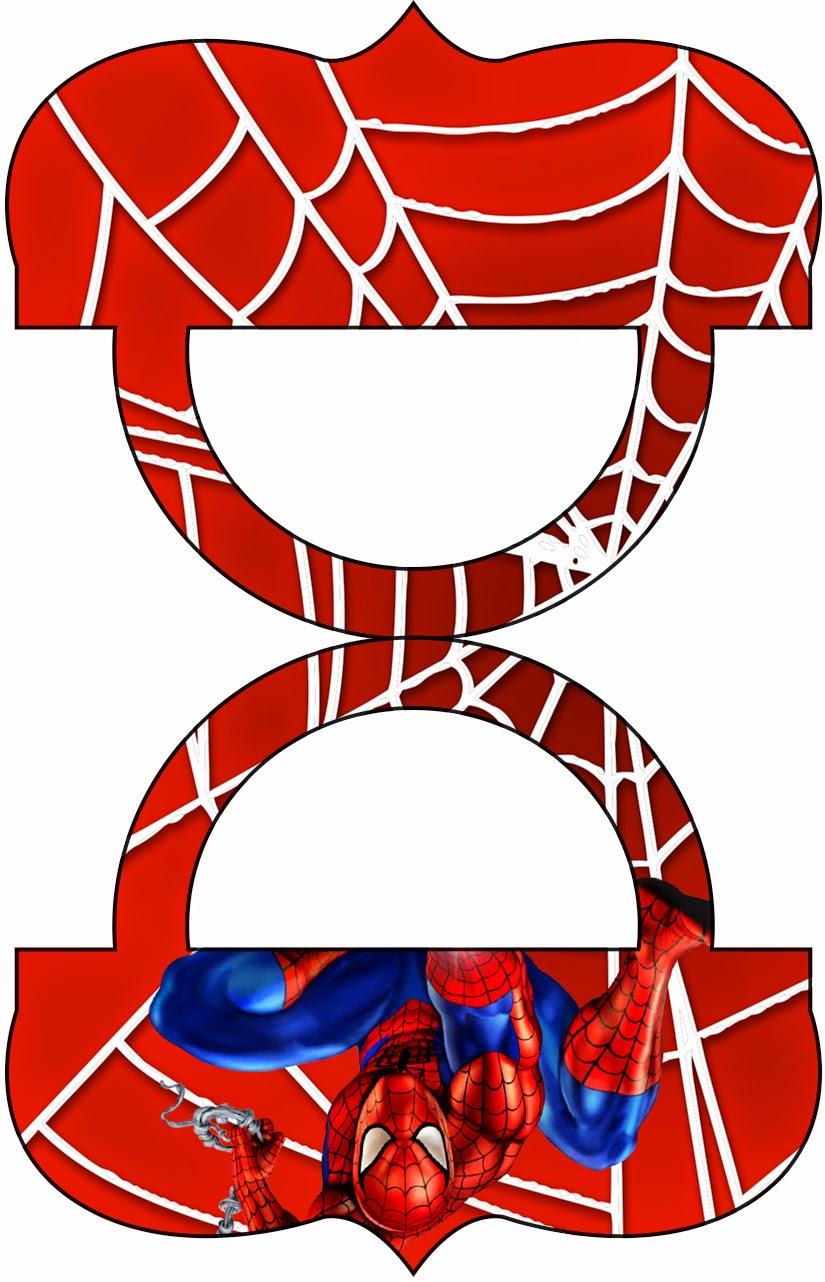 Candy Bar clipart lolly Spiderman: Bar Candy para para