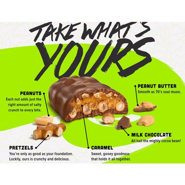 Candy Bar clipart nut Take5 Bars: Piece Bars: CandyWarehouse