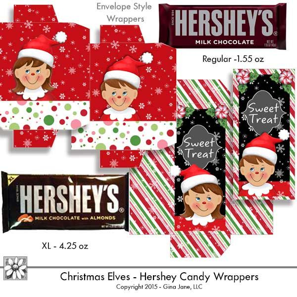 Candy Bar clipart treat Wrappers best 480 Hershey Elf