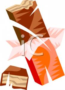 Candy Bar clipart unwrapped #9
