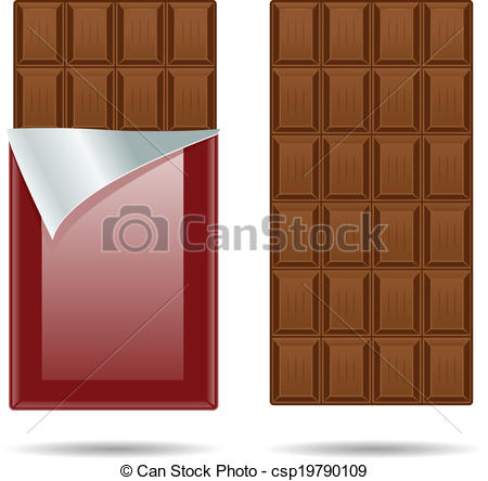 Candy Bar clipart unwrapped #12