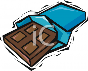Candy Bar clipart unwrapped #5