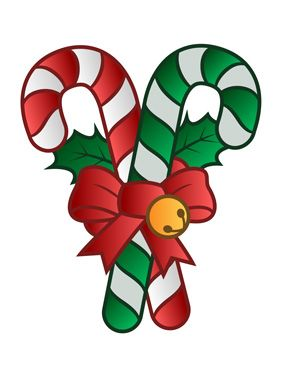 Candy Cane clipart boarder Christmas Images Canes about Candy