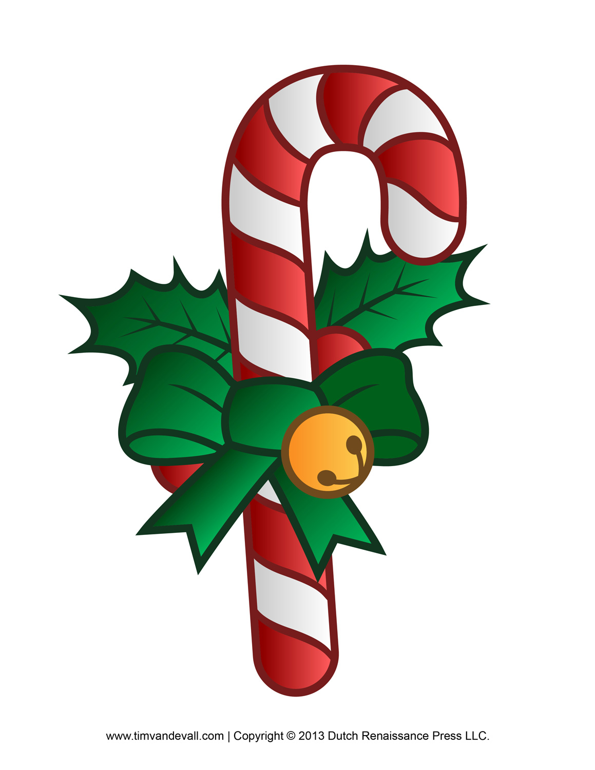 Reindeer clipart candy cane #9