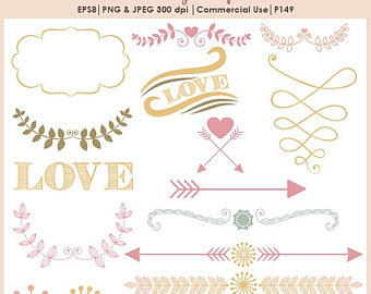 Candy Cane clipart arrow Arrow separator stocking SALE Wedding