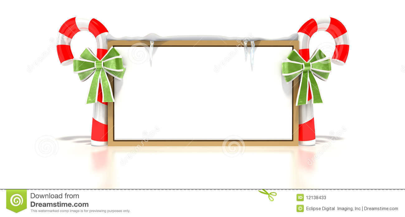 Candy Cane clipart blank White Blank cps Sign Clipart