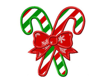 Candy Cane clipart blank Design Etsy Embroidery cane NO