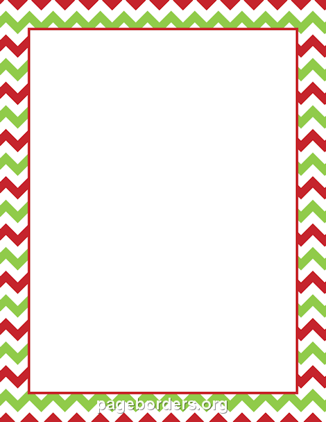 Candy Cane clipart boarder Christmas Free Page Art Border