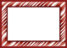 Candy Cane clipart boarder Candy Peppermint in canes frame