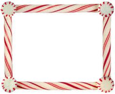 Candy Cane clipart boarder Candy Google candy and clipart