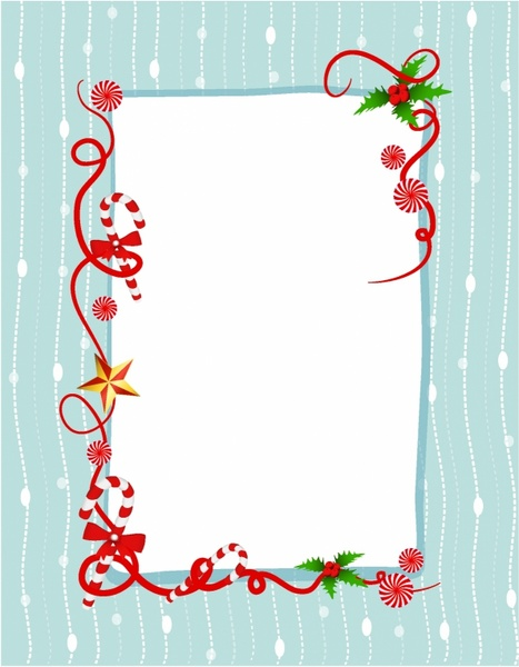 Candy Cane clipart border Cane Christmas candy (12 download