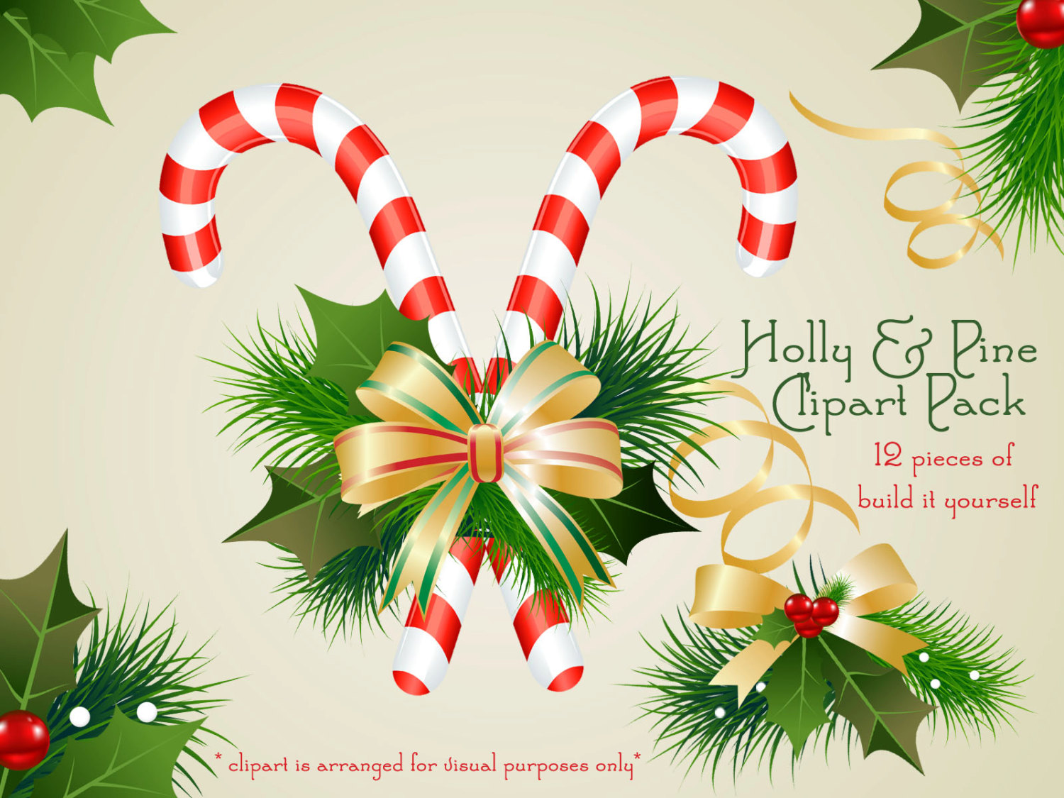 Holydays clipart candy cane  is Clipart digital Clipart