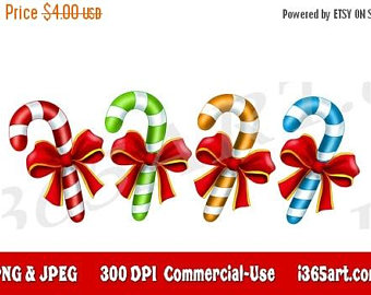 Candy Cane clipart christmas bell Clipart Candy Candy 50% Clip