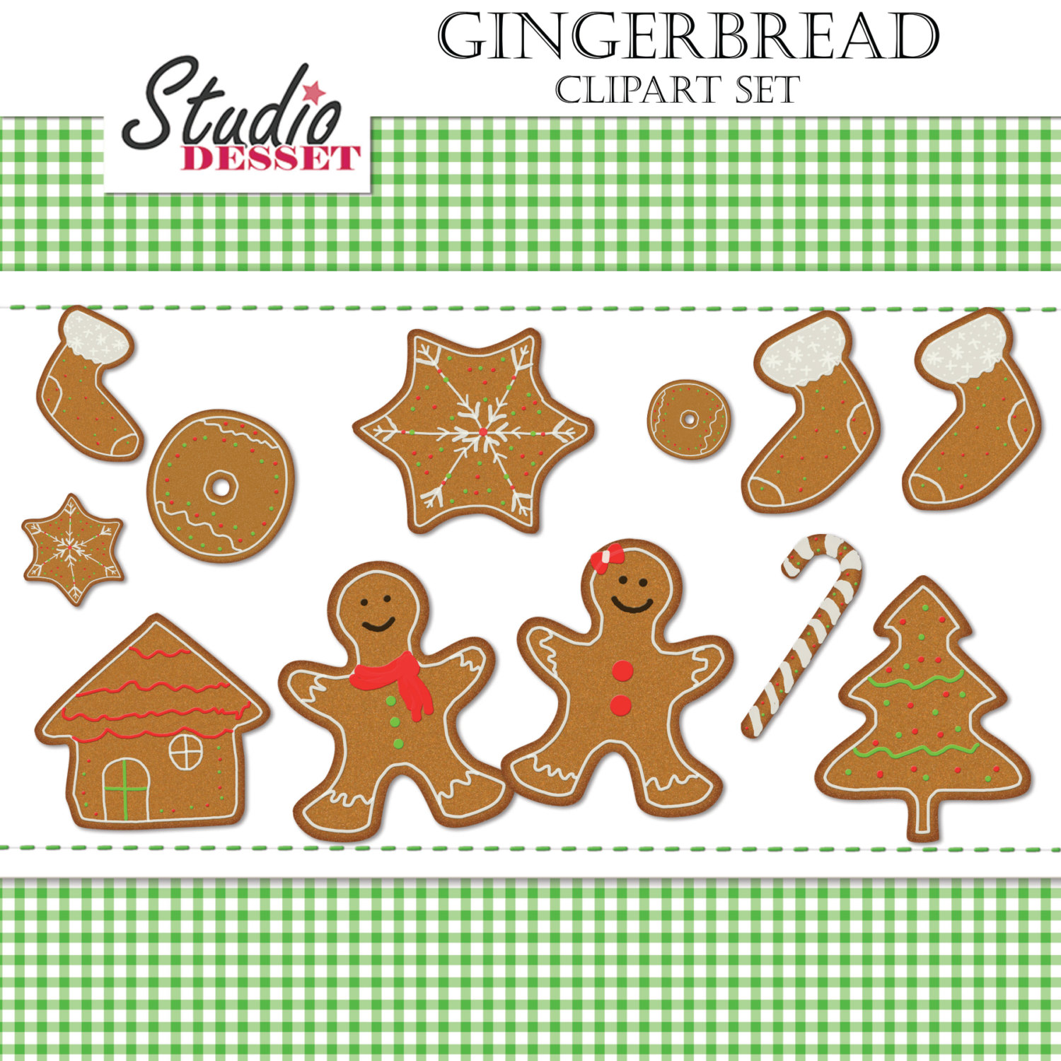 Candy Cane clipart christmas cookie Cane This Gingerbread a Cookie