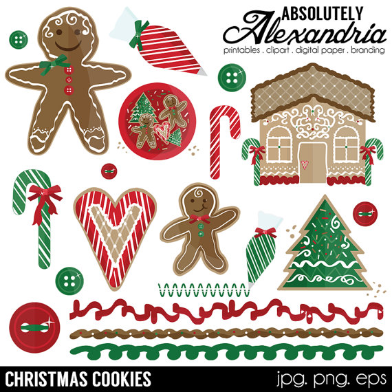 Candy Cane clipart christmas cookie & Candy Christmas  Images
