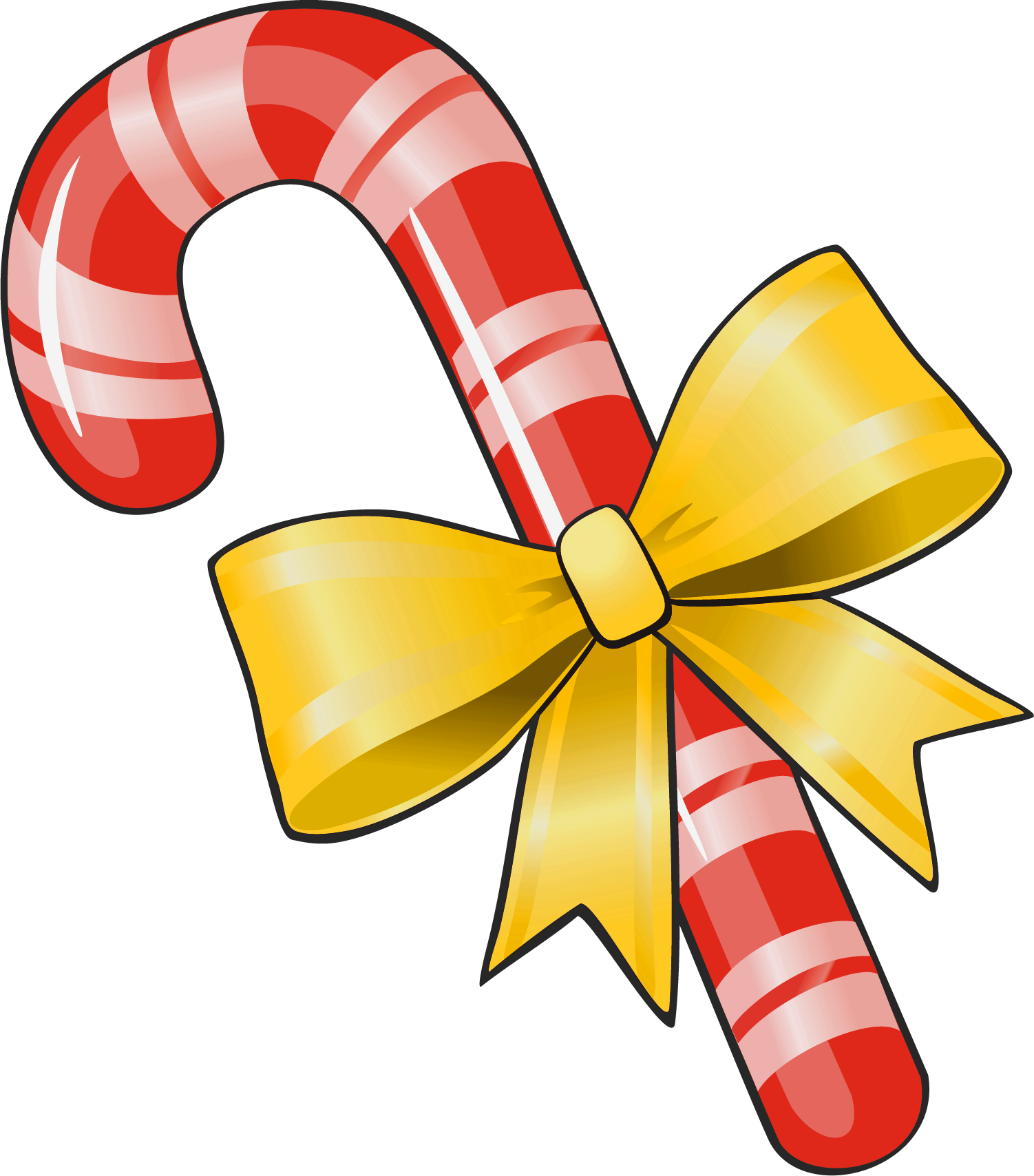 Candy Cane clipart christmas cookie Clipart View Candy size Yellow