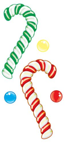Candy Cane clipart christmas cookie CLIP CANDY on CookiesCute *