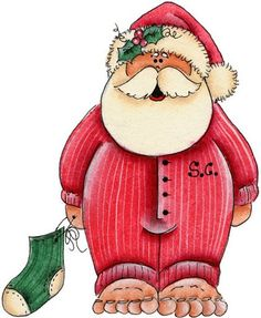 Candy Cane clipart christmas father Christmas Country Papai clip outras