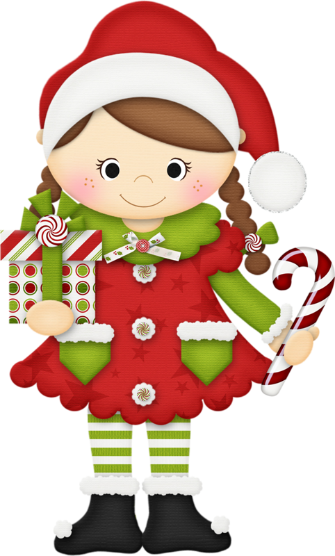 Candy Cane clipart christmas father ElfFather  personnages ChristmasPeppermint personne