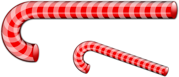 Candy Cane clipart christmas food As: at clip Clker vector