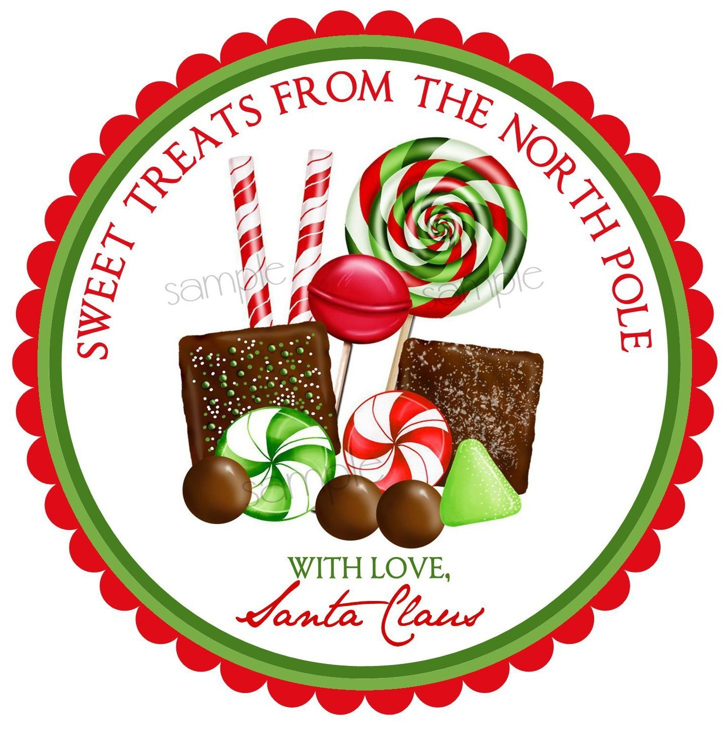 Candy Cane clipart christmas goody Christmas Candy Chocolates Christmas Candy