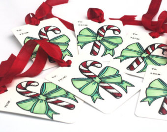 Candy Cane clipart christmas goody To Christmas favor gift Candy_cane_tags