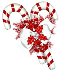 Candy Cane clipart christmas item PNG White PNG ‿✿⁀°••● Christmas