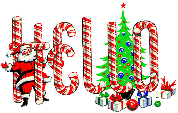 Candy Cane clipart christmas item Printable png clipart christmas christmas