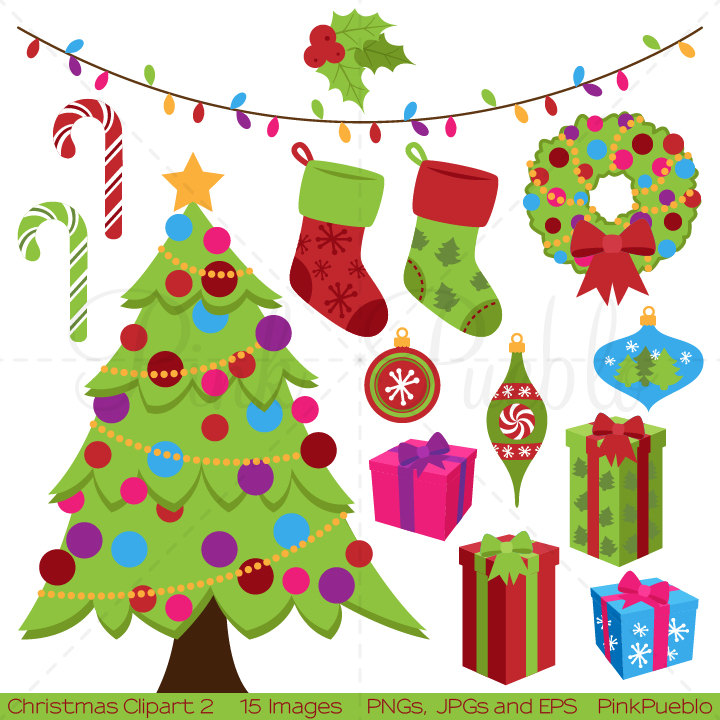 Candy Cane clipart christmas item Stockings  Clip Art Art