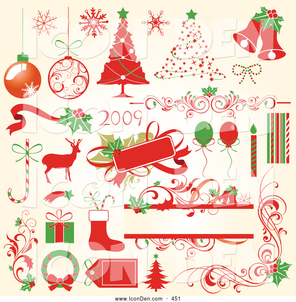 Candy Cane clipart christmas reindeer Icons of Clip Red and
