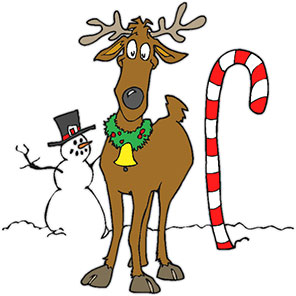Candy Cane clipart christmas reindeer Cane Graphics Candy cane Clipart