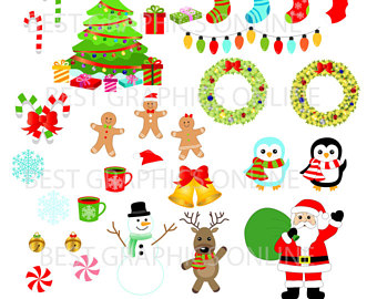 Candy Cane clipart christmas reindeer Candy Claus Clipart Christmas Reindeer
