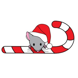 Candy Cane clipart christmas reindeer A Image hat Art Illustration