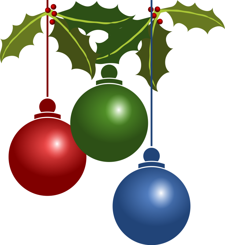 Bell clipart christmas tree decoration Christmas Tree Animations Ornaments and