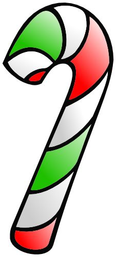Candy Cane clipart colorful Green two Free color Cane