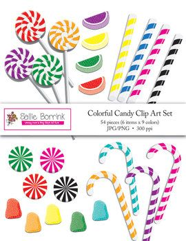 Candy Cane clipart colorful Art best Pinterest images Clip