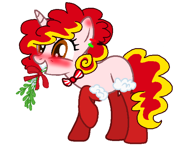 Candy Cane clipart cotton candy Flavored elodySketches and flavored Mistletoes