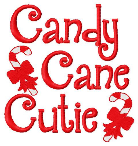 Candy Cane clipart cutie Cutie Etsy similar Christmas candy