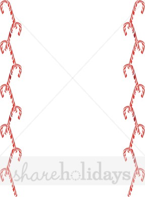 Candy Cane clipart divider Borders Candy Candy Cane Cane