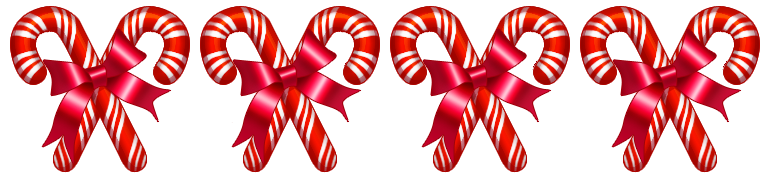 Candy Cane clipart divider For community Candy Dividers Canes