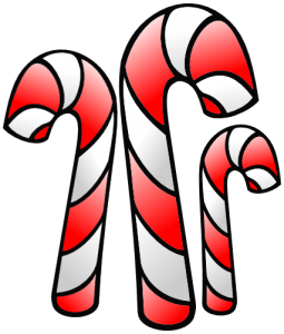 Candy Cane clipart double Clip Cane Art Candy Christmas