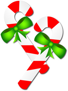 Reindeer clipart candy cane #10