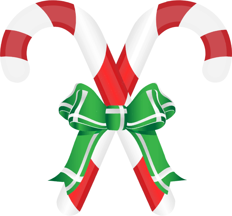 Candy Cane clipart double Domain Art to Clip Free