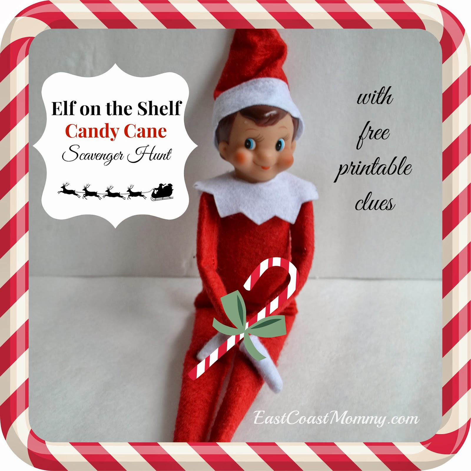 Candy Cane clipart elf on shelf Eight on Coast brought the