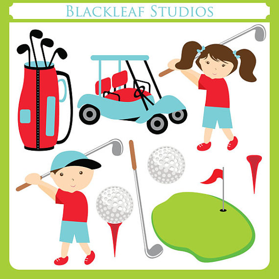 Golf Ball clipart kid golf Clip Download Set art Clipart