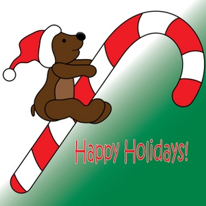Holydays clipart candy cane Com holidays Happy art Art