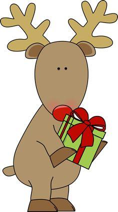 Candy Cane clipart kawaii A CHRISTMAS Holding  Christmas